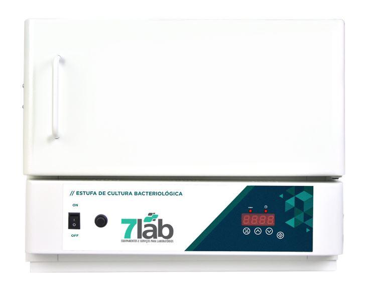 Estufa Incubadora Bacteriológica 7Lab Digital com Timer - 11 L (Bivolt)