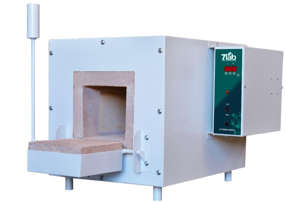 Forno Mufla Digital 7Lab 16 L - 100 a 1.200ºC