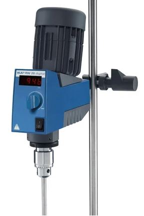 KIT Completo - Agitador Mecânico de hélice IKA RW 20 - 20 L (com suporte)