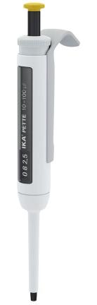 Pipetador Micropipeta volume variável IKA Pette vario 10-100ul - Com certificado de calibração RBC