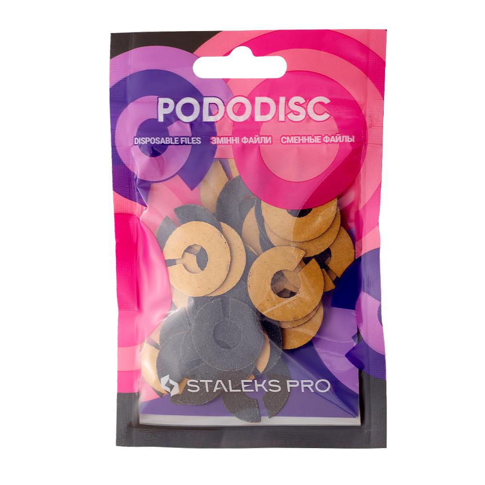 Lixa Refil Anel para Disco de Pedicure Staleks Pro , Grão 100 (50 un) - PDFR-20-100