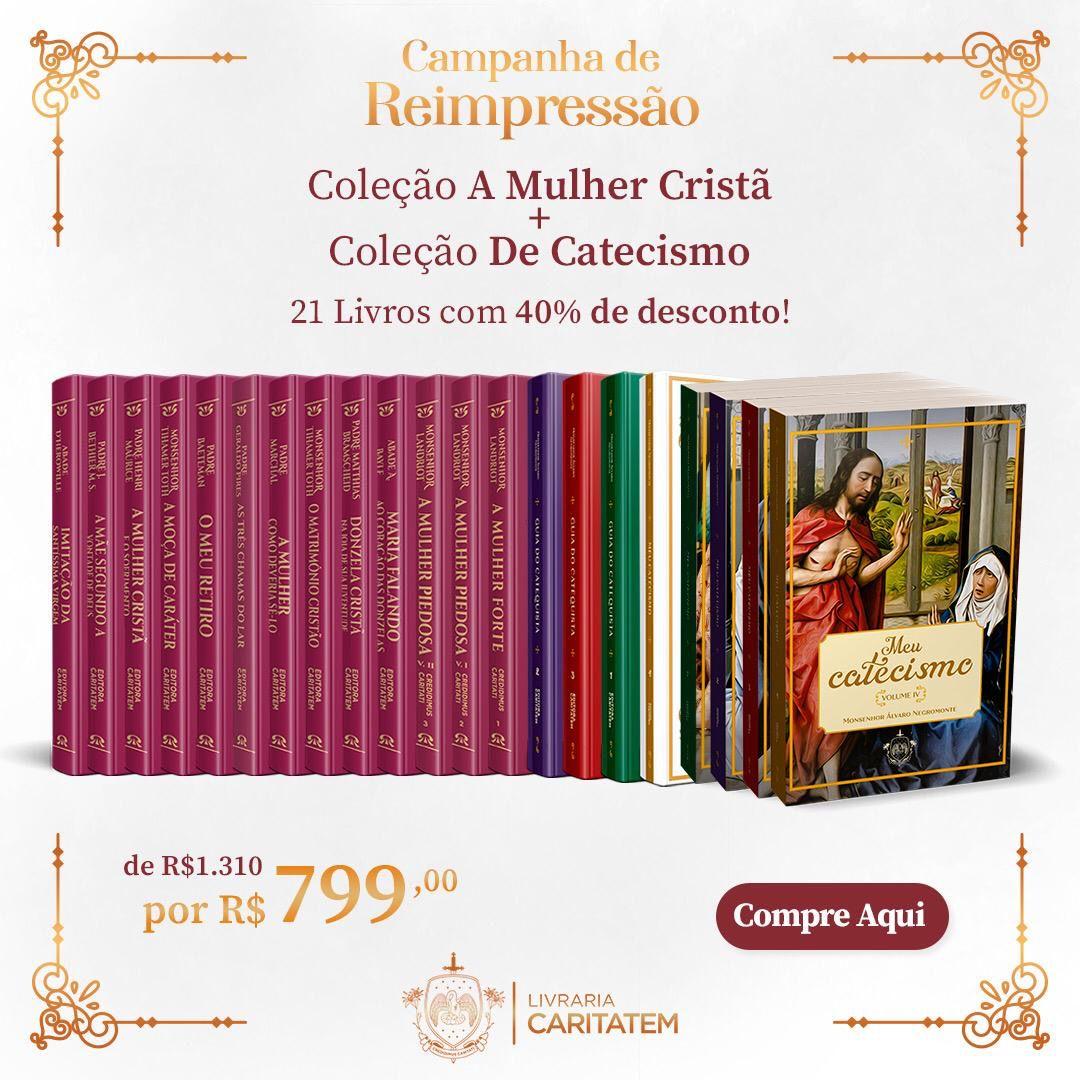Box - A Mulher Cristã e Coleção de Catecismos Padre Álvaro Negromonte