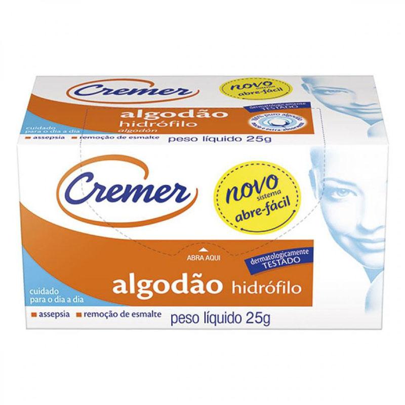 ALGODÃO ROLO 25G CREMER