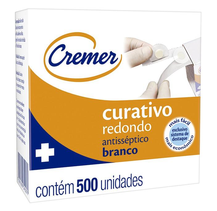 CURATIVO REDONDO ROLO C/ 500 UND
