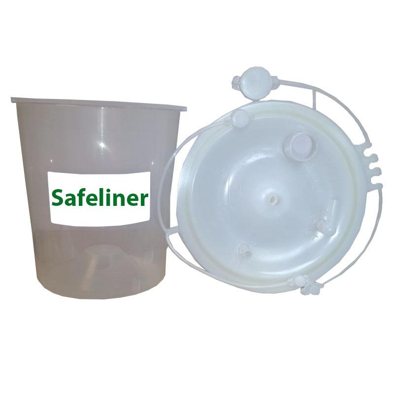 FRASCO SUCÇÃO SAFELINER REFIL 3.000 ML