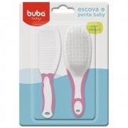 Kit de Higiene com Escova e Pente - Buba