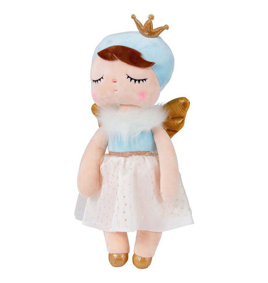 Boneca Ângela Azul 33cm - Metoo