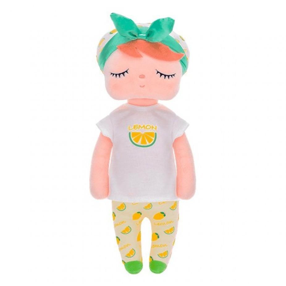 Boneca Ângela Fruta Limão 33cm - Metoo