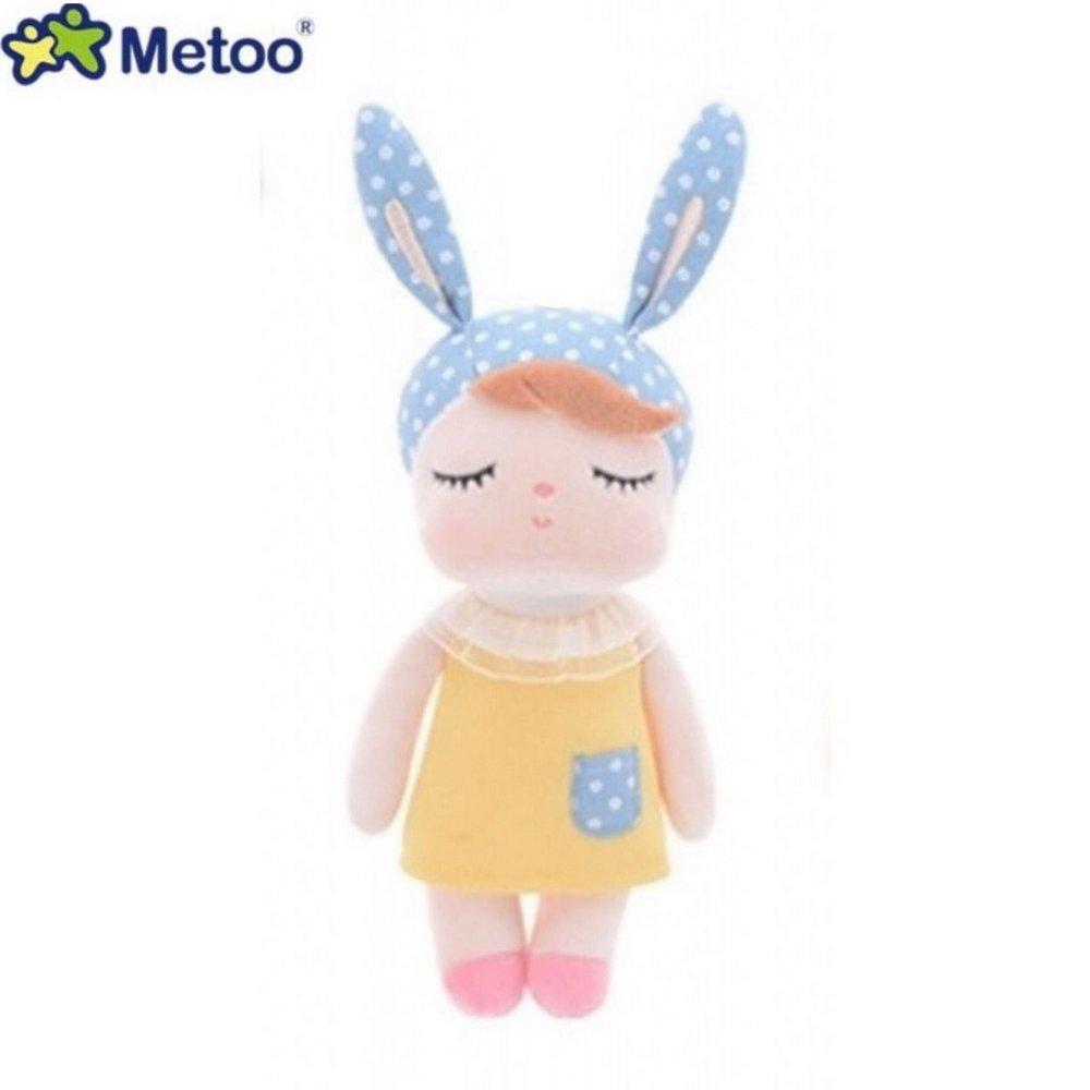Boneca Mini Ângela Amarela 20cm - Metoo