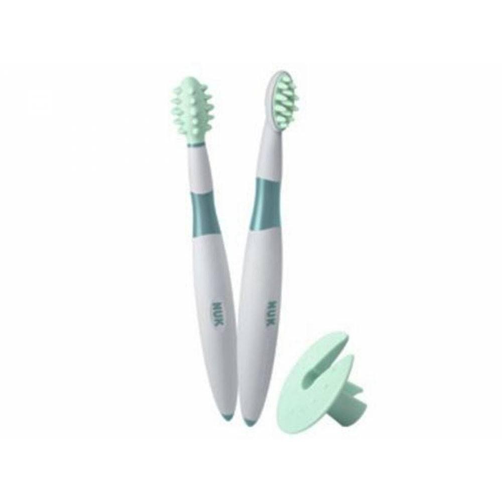Kit de Treinamento com Escova e Massageador Oral - Nuk