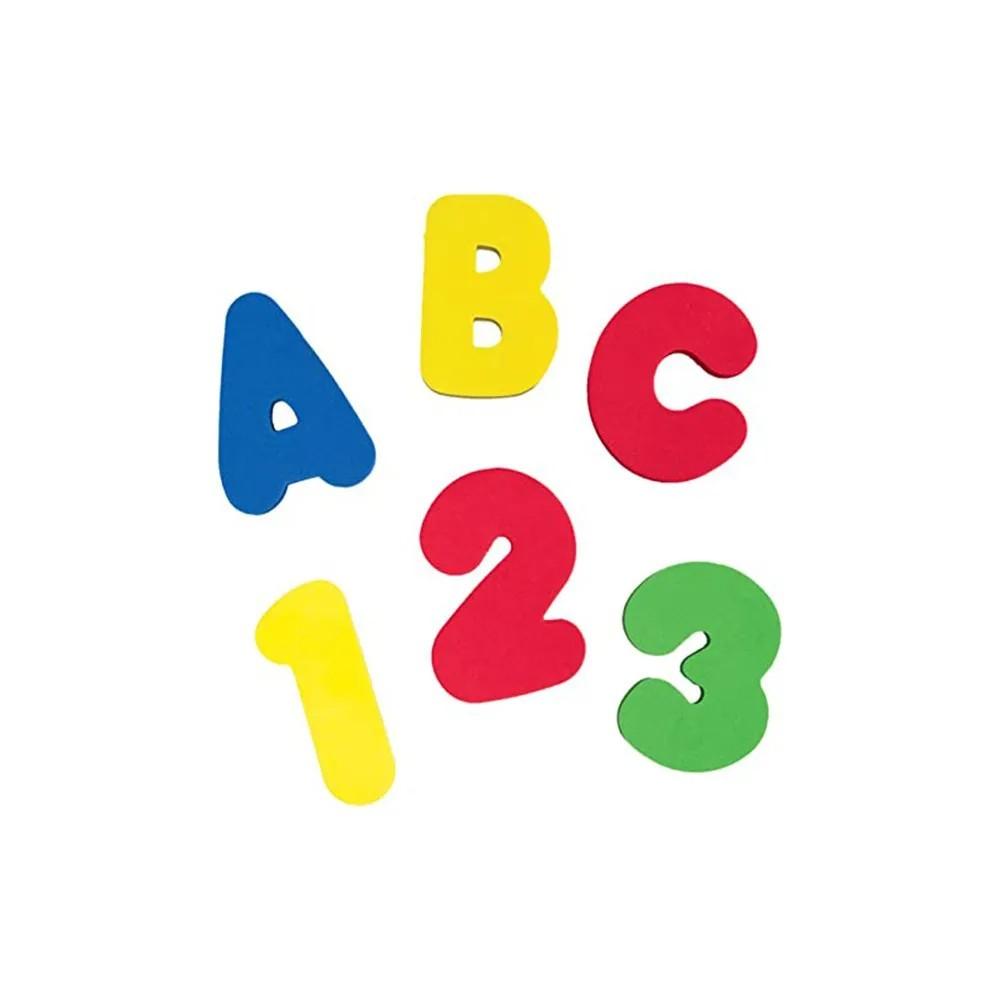 Letras e Números em EVA - Buba