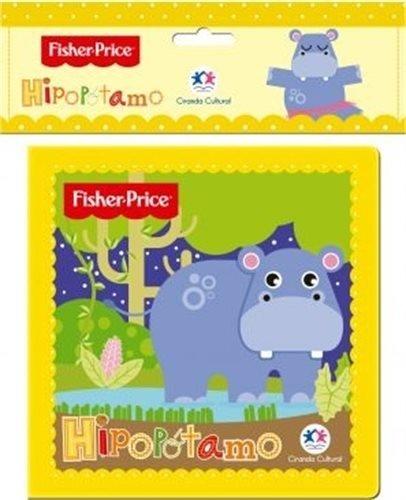 LIVRO DE BANHO FISHER PRICE HIPOPOTAMO UNIDADE 75356 - CIRANDA