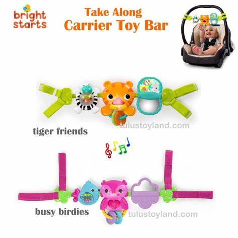 MOBILE CLINGO PIP BUSY BIRDIES CARRIER TOY BAR