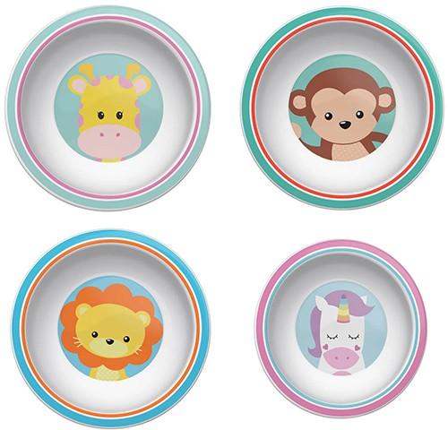 Pratinho Bowl Animal Fun - Buba Baby