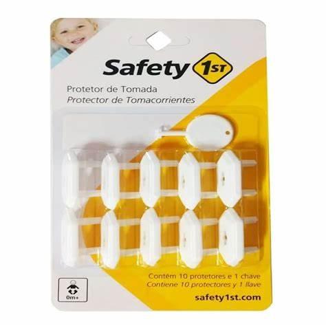 PROTETOR DE TOMADA 10PCS SAFETY 1ST