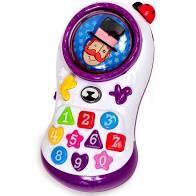 TELEFONE COM MUSICA E LUZ MUNDO BITA