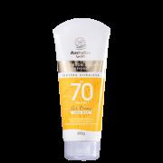 Australian Gold Gel Creme FPS70 - Protetor Solar Corporal 200gr
