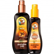 Australian Gold Kit Summer - Protetor Solar Corporal 237ml + Bronzeador 125ml