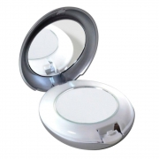 Espelho com Luz Tweezerman – Espelho com Luz Compacto 10x