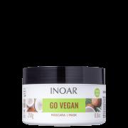 Go Vegan Hidratação e Nutrição Inoar - Máscara Capilar 250g