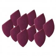 Kit com 10 Esponjas Flat Blend para Maquiagem - Mariana Saad By Océane
