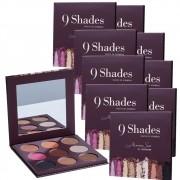 Kit com 10 Paletas de Sombra 9 Shades - Mariana Saad By Océane