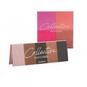 Kit com 1 Paleta de Blush 14,8g Océane Collection + 1 Paleta de sombras 7,7g Océane Collection