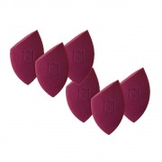 Kit com 6 Esponjas Flat Blend para Maquiagem - Mariana Saad By Océane