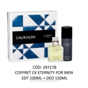 Kit Eternity For Men Calvin Klein - Perfume Eau de Toilette 100ml + Desosorante 150ml