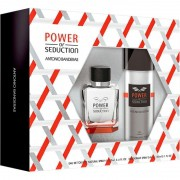Kit Power of Seduction Antonio Banderas Eau de Toilette - Perfume Masculino 100ml +  Deo 150ml
