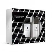 Kit The Secret Men Antonio Banderas -  Eau de Toilette 100ml + Desodorante 150ml