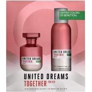 Kit United Dreams Together For Her Benetton - Eau de Toilette 80ml + Desodorante 150ml
