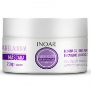 Máscara Desamarelador Inoar Speed Blond 250g