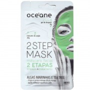 Océane 2 Step Algas Marinhas e Tea Tree - Máscara Facial