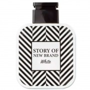 Story of New Brand White Eau de Toilette - Perfume Masculino 100ml