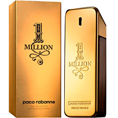 1 Million Eau de Toilette Paco Rabanne - Perfume Masculino 50ml