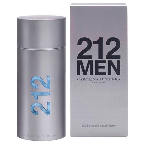 212 Men Eau de Toilette Carolina Herrera - Perfume Masculino 50ml
