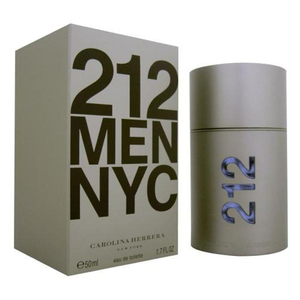 212 Men Eau de Toilette Carolina Herrera - Perfume Masculino 50ml