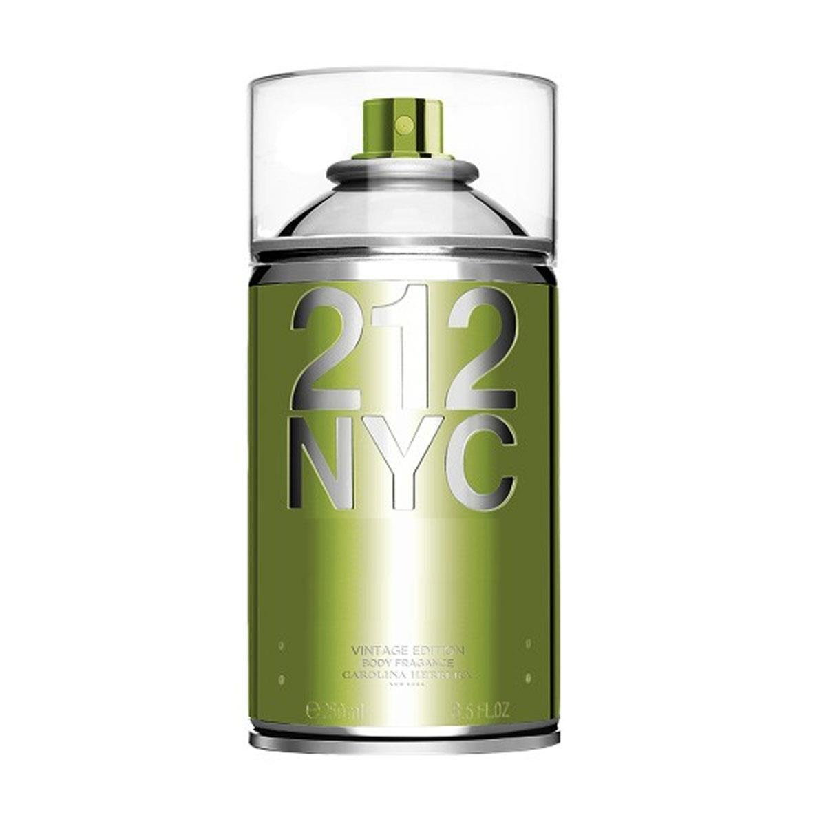 212 NYC Vintage Carolina Herrera - Body Spray Feminino 250 ml