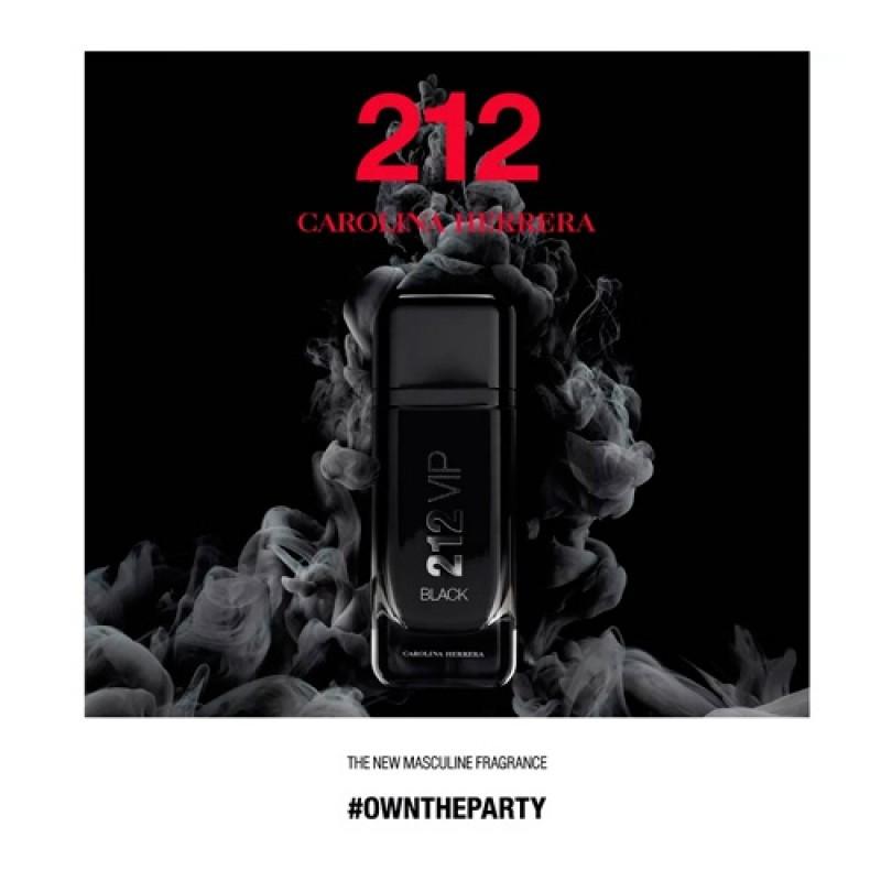 212 Vip Black Eau de Parfum Carolina Herrera - Perfume Masculino 200ml