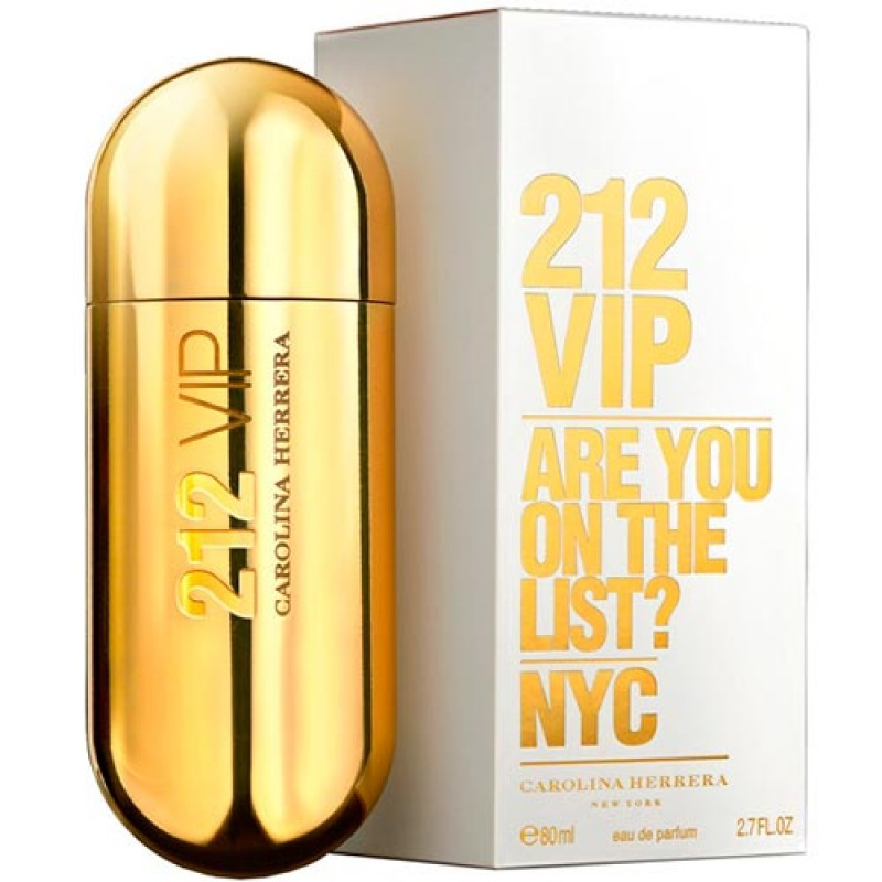 212 Vip Eau de Parfum Carolina Herrera - Perfume Feminino 125ml