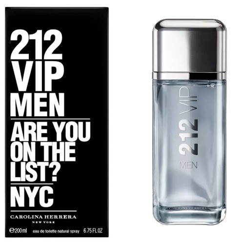 212 VIP Men Eau de Toilette Carolina Herrera - Perfume Masculino 200ml