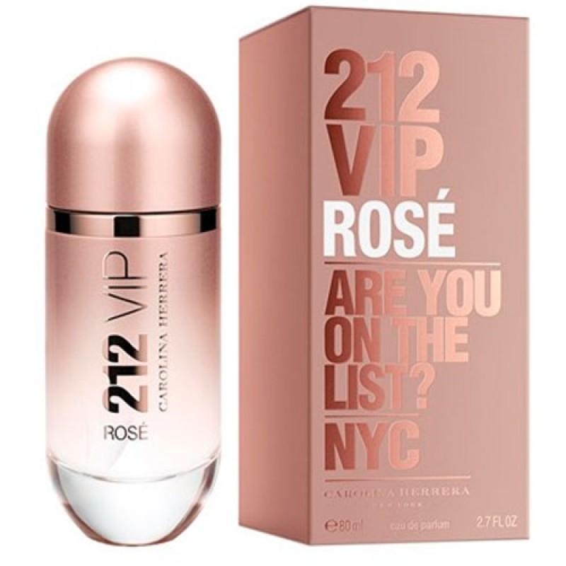 212 Vip Rose Eau de Parfum Carolina Herrera - Perfume Feminino 80ml