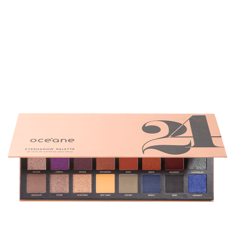 24 Eyeshadow Palette Océane - Paleta de Sombras