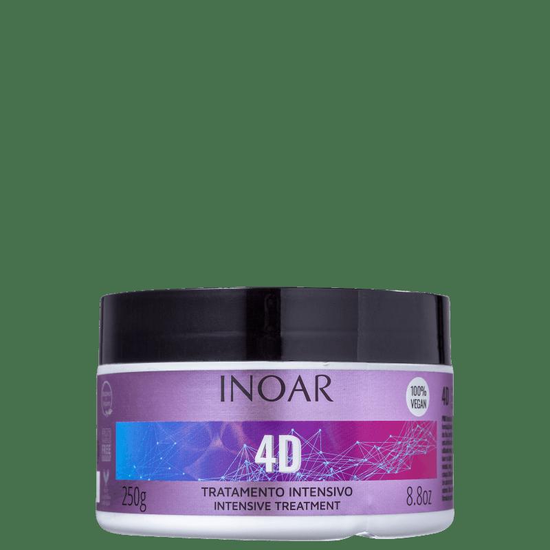 4D Inoar - Máscara Capilar 250g