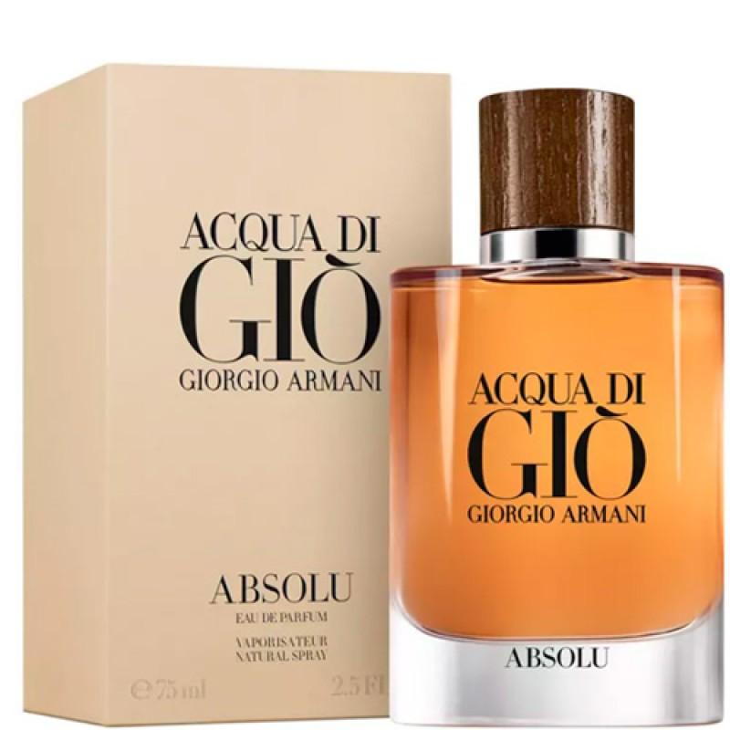 Acqua di Giò Absolu Eau de Parfum Giorgio Armani - Perfume Masculino 125ml