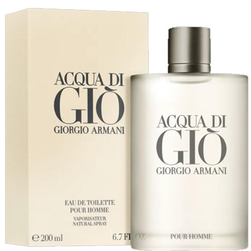 Acqua di Giò Pour Homme Eau de Toilette Giorgio Armani - Perfume Masculino 200ml