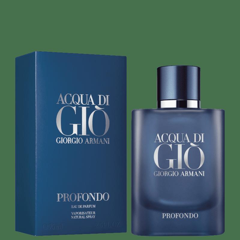 Acqua di Gio Profondo Eau de Parfum Giorgio Armani - Perfume Masculino 75ml
