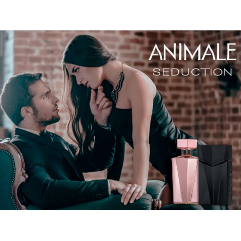 Animale Seduction Homme Eau de Toilette Animale - Perfume Masculino 30ml