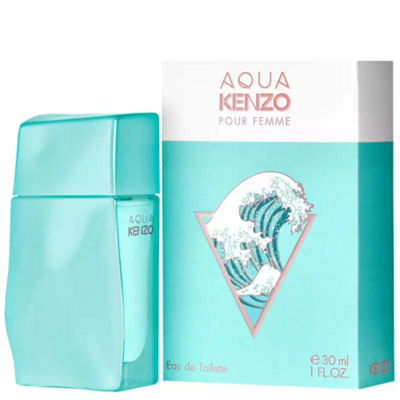 Aqua Pour Femme Eau de Toilette Kenzo - Perfume Feminino 30ml